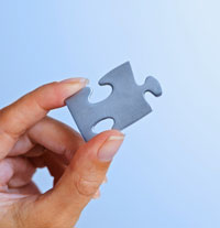 business negotiation puzzle piece