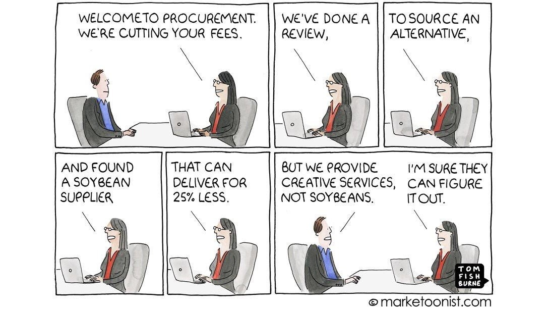 negotiation with Procurement